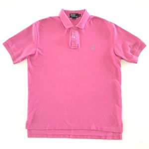 Men's Ralph Lauren Polo Shirt Pink XL